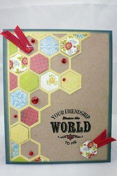 My Creative Endeavors....: Happy Hexagons :)