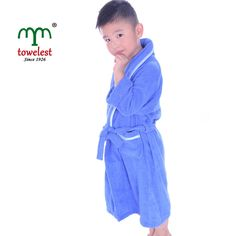 Solid Kids Child/Boys/Girls Bathrobe Cotton Spa Swim Bathroom Pool Robe 5 Colors #MMY #Robe
