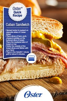 Football fans around your living room will be delighted with this robust sandwich! Make them a Cuban Sandwich and keep celebrating all the flavors of #HispanicHeritageMonth while rooting for your team!