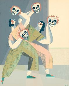 It's Nice That | Polish illustrator Gosia Herba interprets myths and legends in pastel tones