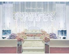 Wedding Stage Decorations, Backdrop Decorations, Backdrops, Wedding Trends, Wedding Designs, Wedding Styles, Wedding Ideas, Malay Wedding, Ceremony Backdrop