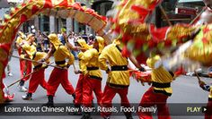 """This is a great video that discusses and shows visuals of the """"highlight reel"""" of Chinese culture. You see Chinese New Year celebrations, traditional feasts and even a bit of historical footage."""