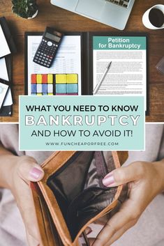 What is bankruptcy? Today, we're going to walk you through all that you need to know about it, plus give you an option for getting out of debt! Budgeting Finances, Budgeting Tips, Strong Marriage, Get Out Of Debt, Life Happens, Car Loans, Boot Camp, Student Loans, Ways To Save