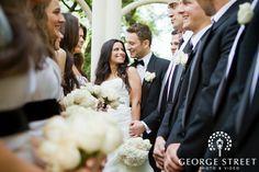 creative wedding poses | Creative Bridal Party Poses