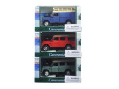 Land Rover 109 Series III 3pc Set Red,Blue,Green 1/43 Diecast Model Cars by Cararama - Brand new 1:43 scale diecast car model of Land Rover 109 Series III 3pc Set Red,Blue,Green die cast car models by Cararama. Opening doors. Detailed interior, exterior. Dimensions of each model is approximately L-4 inches long.-Weight: 2. Height: 6. Width: 11. Box Weight: 2. Box Width: 11. Box Height: 6. Box Depth: 6
