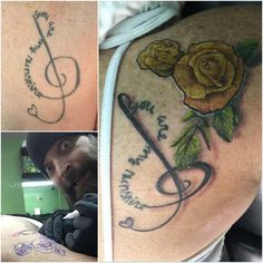 Rework Music Roses Tattoo