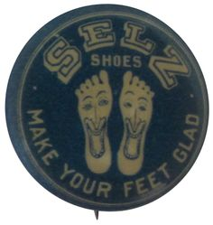 Selz Shoes   Busy Beaver Button Museum