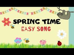 Spring Song for kids | Easy Monkey Songs