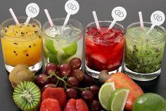 CAIPIRINHA DRINKS - SERVIÇO DE BAR: COQUETEIS DE FRUTAS