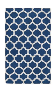 Frontier Mediterranean Blue/Winter White Rug @ Wayfair.com