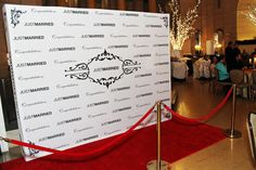 Fun idea, have photographer greet each guest with a red-carpet style photo. That way, you get a photo of everyone!!! But of course, we would make it much classier than this.
