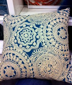 Bloomingdale's Doily Pillow