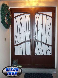 Las Vegas Security Doors & Window Guards | Wrought Iron Security Bars