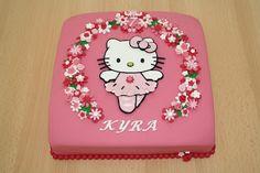 Karin's Taarten: Hello Kitty Ballerinataart