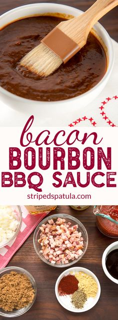 BBQ sauce homemade | BBQ sauce recipe | Barbecue sauce  | BBQ sauce | Bacon recipes