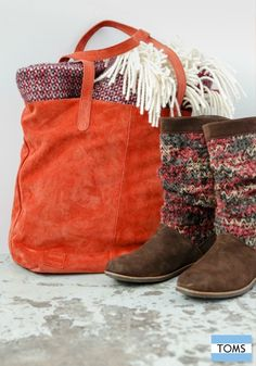 New fall arrivals from TOMS make giving back so much more fashionable.