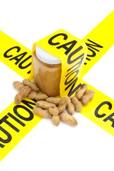Peanut allergies can