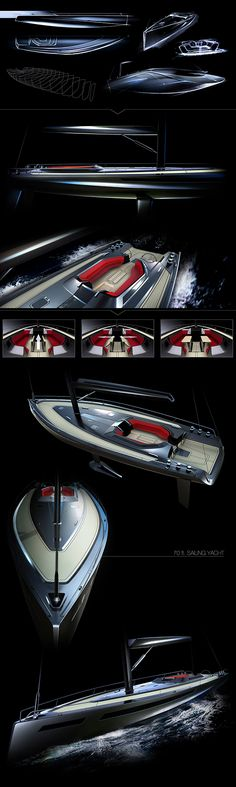70 ft. Sailing Yacht / Concept