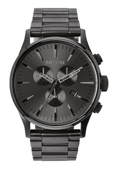 Sentry Chrono | Men's Watches | Nixon Watches and Premium Accessories #menwatches