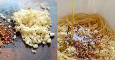 Spaghetti Aglio, Olio, e Peperoncino