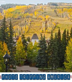 Vail Village in Autumn is an amazing travel destination! But any season is full of great activities: you've got skiing in winter, hiking in summer and Spring brings mud season! Vail Ski Resort, Vail Village, Changing Leaves, Vail Colorado, Aspen Trees, Golden Leaves, Photo Canvas, Travel Usa, Canvas Wall Art