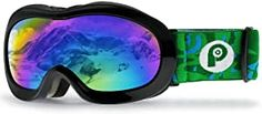 PP PICADOR Kids Ski Goggles, Kid Snow Snowboard Goggles for Boys Girls 4-7 with Over Glasses OTG Design Anti-Fog Lens 100% UV Protection Helmet Compatible Best Ski Goggles, Snowboard Goggles, Ski And Snowboard, Kids Skis, Best Skis, Daughter Love, Girls 4, Boy Or Girl, Skiing