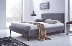 Manželská posteľ 160 cm - Halmar - Flexy (s roštom) Living Furniture, Bedroom Furniture, Modern Furniture, Bedroom Decor, Upholstered Bed Frame, Upholstered Platform Bed, Transforming Furniture, Reupholster Furniture, Panel Bed