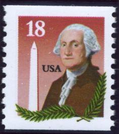 Scott 2149 18 Cent Coil Stamp George Washington