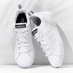 all white adidas
