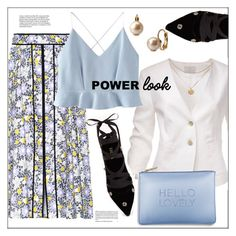"""What's Your Power Look?"" by pat912 ❤ liked on Polyvore featuring Carolina Herrera, WithChic, Katie Loxton, Erdem, CENA, Kate Spade, polyvoreeditorial and MyPowerLook"