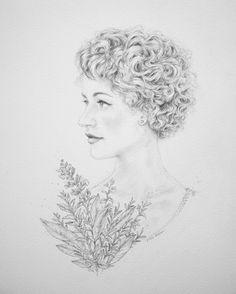 Portraiture - Lucy Yu { Artwork }