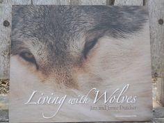 Freeship Living With Wolves JIM Jamie Dutcher Like NEW Hardback Photos CD Giftit   eBay