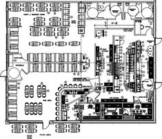 Data Collection, Thesis, Floor Plans, Layout, Patio, Bar, Arquitetura, Restaurant, Page Layout