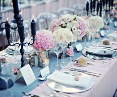 Pink and grey scheme. Design by The Lake Como Wedding Planner #lakecomo #wedding #weddingplanner