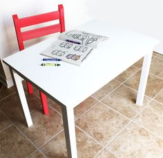 Clara Play Table | Do It Yourself Home Projects from Ana White