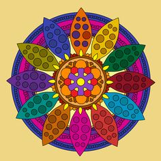 Try out the #mandala Gallery from our #app.  Download it from #goleplay for your #android devices