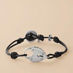 Superlove this bracelet! Obsessed with keys and locks. :)