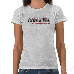 Kuriosity Killz - Women's Distressed T-Shirt  Be comfortable all day! Order the Limited Edition Kuriosity Killz Women's T-Shirt designed by Trey McGriff. Visit www.KuriosityKillz.com for more information about the award-winning horror Film.