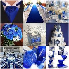 Image detail for -Royal blue wedding theme pictures 1