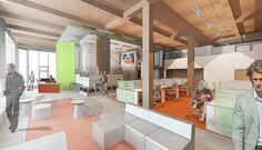 Hudson: Business Lounge Workplace