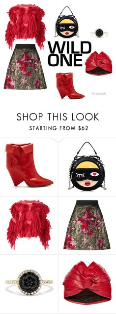 """""""Untitled #65"""" by nerdygets on Polyvore featuring Isabel Marant, writtenafterwards, Dolce&Gabbana, Effy Jewelry and Gucci"""