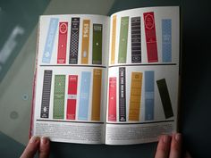 cool book layout for portfolio, maybe?