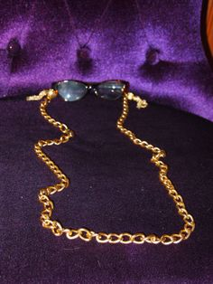 Gold Fringe Eyeglass Chain by TheFACEspace on Etsy, $10.00