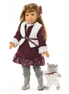 Carlotta, one of the new play dolls from Kidz 'n' Cats. Suitable for older girls 6+, available end of Feb from Petalina.co.uk