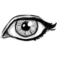 How to Draw Realistic Eyes with Easy Step by Step Drawing Lessons How... ❤ liked on Polyvore