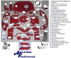 [DIAGRAM_38IS]  53 Best Engine images in 2020   Vw beetles, Vw bug, Volkswagen beetle   Vw 1600 Bus Engine Tin Diagram      Pinterest