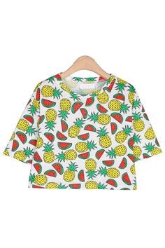 Because pineapples and watermelons are a winning combination.