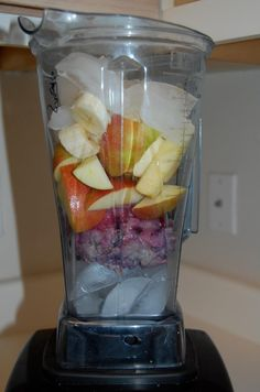 Oatmeal Fruit Shake - for your leftover oatmeal! | Wicked Healthy Food