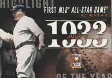 2015 Topps Series 2 Highlight of the Year #H-34 First MLB All-Star Game
