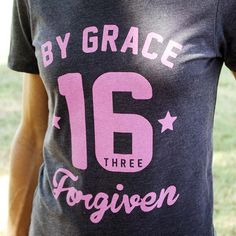 This super comfy Christian tshirt for Women is Inspired by John 3:16 ~ It's a fun and sporty design that highlights one of the most powerful verses in the bible and makes a fantastic Christian gift for women and young ladies.